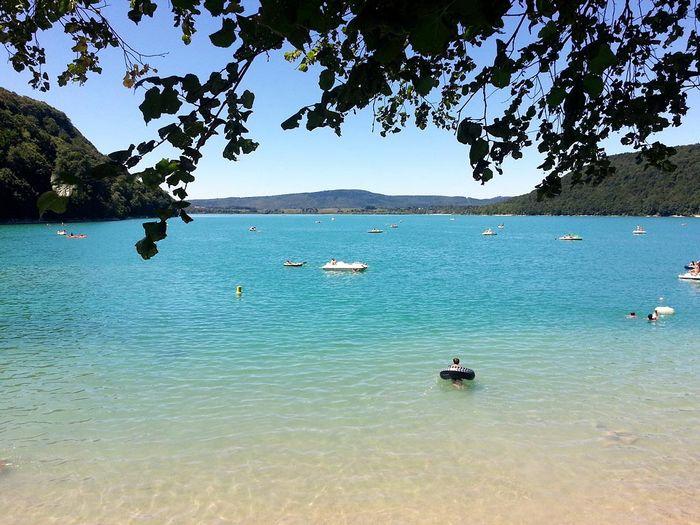 lac de chalain en Bourgogne-Franche-Comté