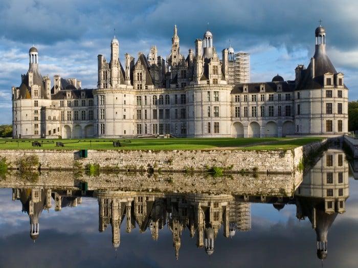 Le château de Chambord en Centre-Val de Loire