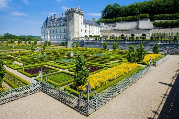 Les jardins et château de Villandry - Région Centre-Val de Loire
