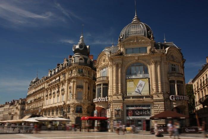 Location place de la comédie Montpellier