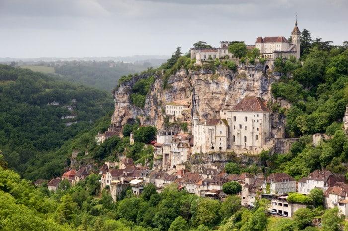 Rocamadour en région Occitanie