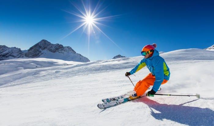 faire du ski en Auvergne-Rhône-Alpes