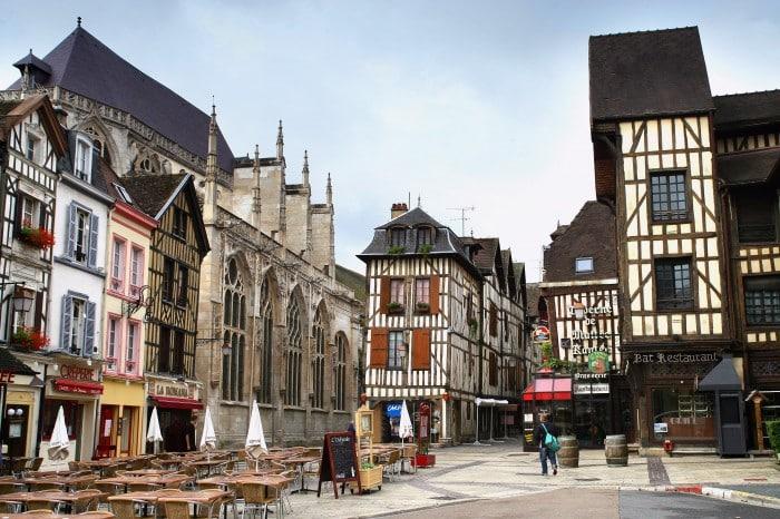 Architecture de la ville de Troyes