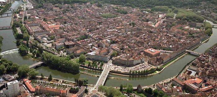 Besançon en Bourgogne-Franche-Comté