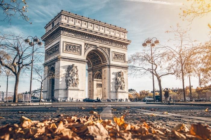 Arc de triomphe en Île-de-France