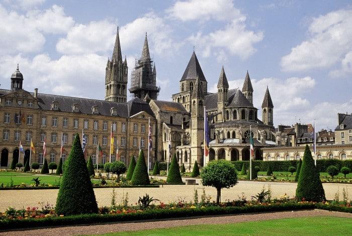 Monuments de Caen en Normandie