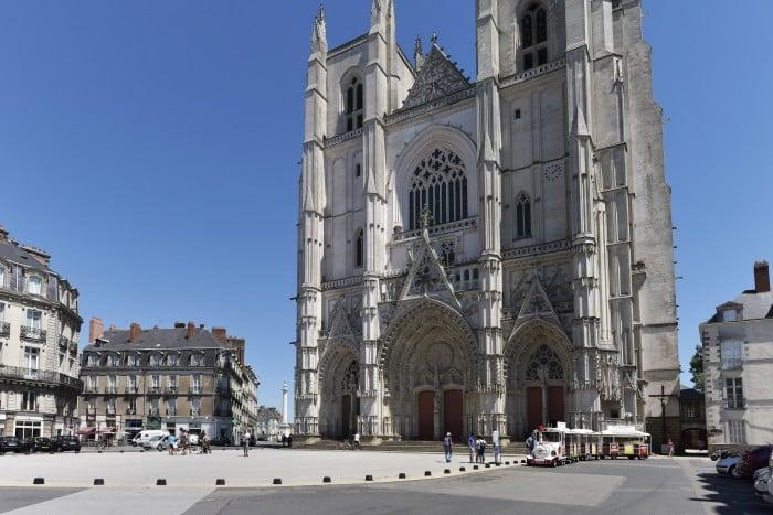 La cathédrale de Nantes en Loire-Atlantique
