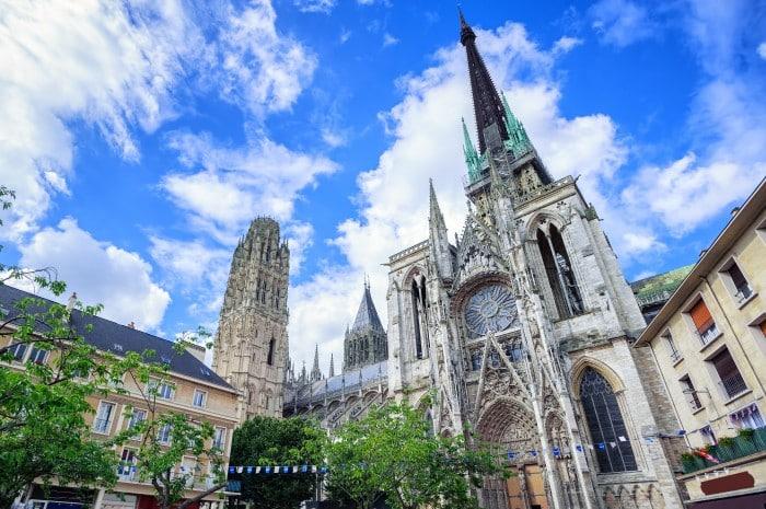 Normandie : cathédrale de Rouen
